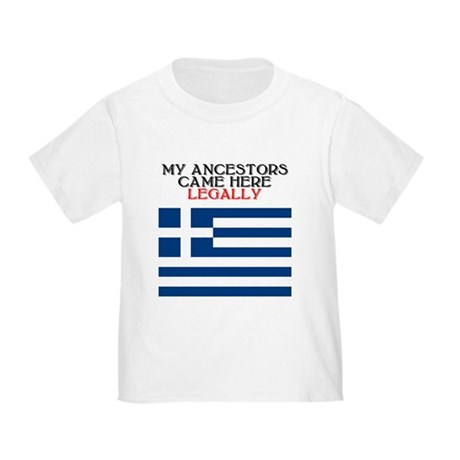 Greek Heritage Toddler T-Shirt