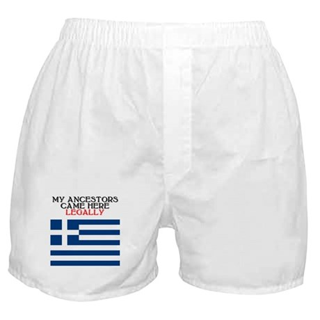 Greek Heritage Boxer Shorts