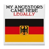 German Heritage Tile Coaster