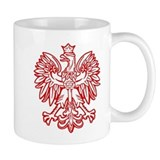 Polish Eagle Emblem Small Mugs