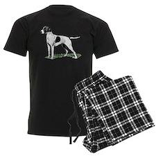 English Pointer Standing Pajamas