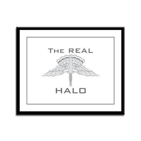 Real HALO Framed Panel Print