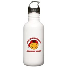 Have you hugged an Albanian today? Water Bottle