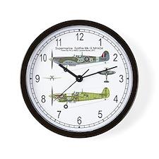 Spitfire Cutaway Wall Clock