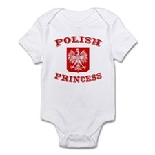 Polish Princess Infant Creeper