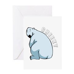 Funny Polar Bear Greeting Card