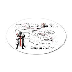 TempleTrail.net 22x14 Oval Wall Peel