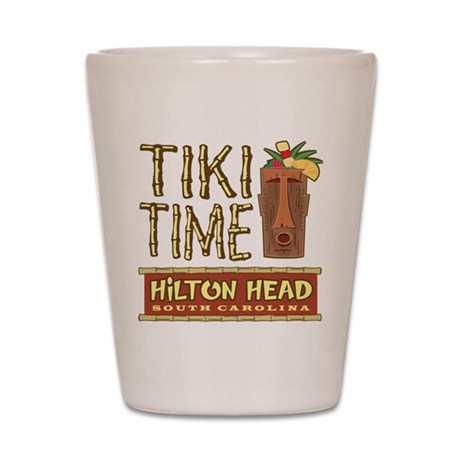 Hilton Head Tiki Time - Shot Glass