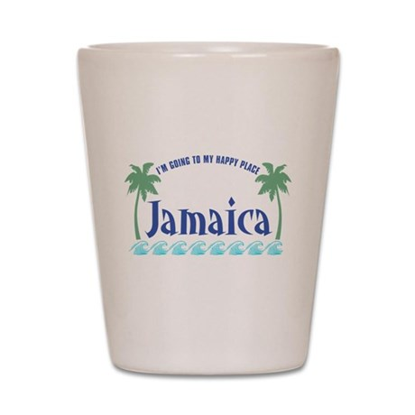 Jamaica Happy Place - Shot Glass