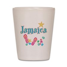 Jamaica Flip Flops - Shot Glass