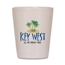 Key West Therapy - Shot Glass