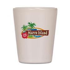 Classic Marco Island - Shot Glass