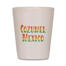 Cozumel Mexico - Shot Glass