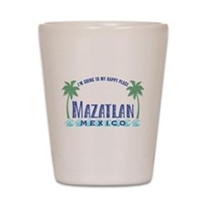 Mazatlan Happy Place - Shot Glass