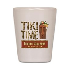 Puerto Vallarta Tiki Time - Shot Glass