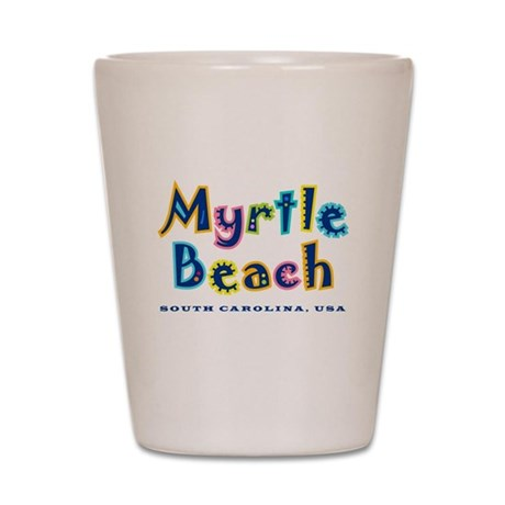 MB Tropical Type - Shot Glass