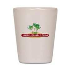 Sanibel Island Palms - Shot Glass