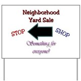 Neighborhood Yard Sale Sign