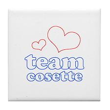 Team Cosette Tile Coaster