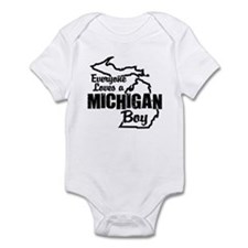 Michigan Boy Infant Bodysuit