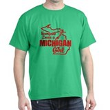 Everyone Loves a Michigan Girl T-Shirt