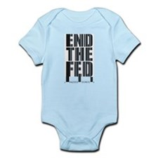 End The Fed Bar Code Infant Bodysuit