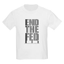 End The Fed Bar Code T-Shirt
