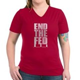 End The Fed Bar Code Shirt