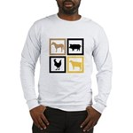 Farm Animals Long Sleeve T-Shirt