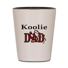 Koolie Dad Shot Glass