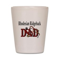 Rhodesian Ridgeback Shot Glass