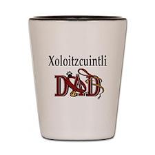 Xoloitzcuintli Dad Shot Glass