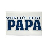 Funny Papa Rectangle Magnet (100 pack)