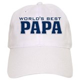 Cute Best papa Baseball Cap