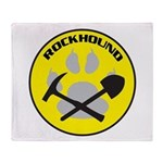 Rockhound Throw Blanket