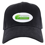 Eco Friendly Black Cap