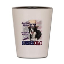 BORDERcrat Shot Glass