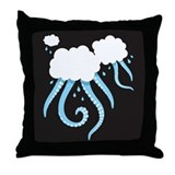 Cthulhu Clouds Throw Pillow