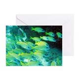 fish greeting (Pk of 10)