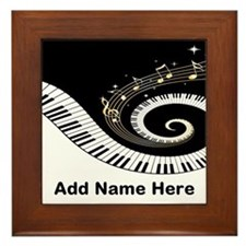 personalized mixed musical no Framed Tile