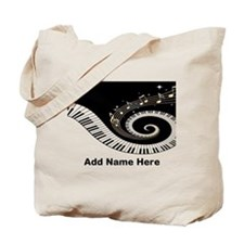 personalized mixed musical no Tote Bag