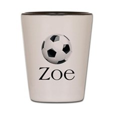 Zoe soccer Shot Glass