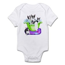 Boston Terrier TubFull Infant Bodysuit
