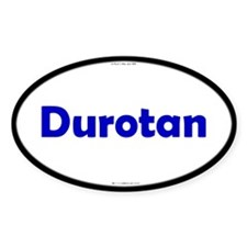 Durotan Blue Server Oval Decal