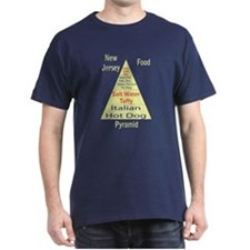 New Jersey Food Pyramid T-Shirt