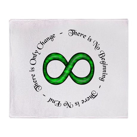 Infinite Change Throw Blanket