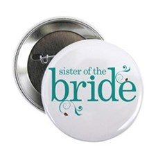 "Sister of the Bride Swirl 2.25"" Button"