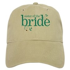 Sister of the Bride Swirl Baseball Cap