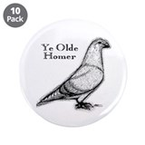 Ye Olde Homer 3.5&amp;quot; Button (10 pack)