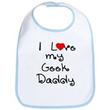 I Love My Geek Daddy Bib